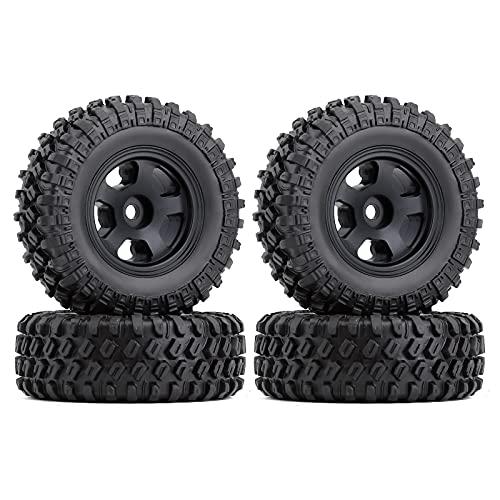 4 ruedas Micro Beadlock para 1/24