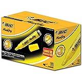 Marcador de Texto BIC, Amarelo, pacote de 12