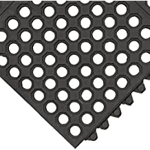 interlocking drainage vinyl pin mat tile gray x dri floor thick cactus dek et