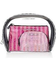Victorias Secret 3pc GLAM Cosmetic Case Set