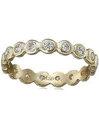 SHASHI Sterling Silver Bezel Ring