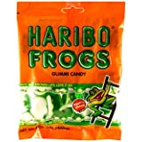 Haribo Gummies - Frogs - 5 oz
