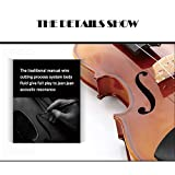 Aliyes Solid Wood Violin Designed for