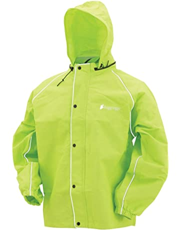 more photos 0a750 f7f77 Frogg Toggs Road Toad Reflective Rain Jacket