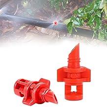 C-Pioneer 20pcs 360 Degree Micro Garden Lawn Water Spray Misting Nozzle Sprinkler Irrigation System