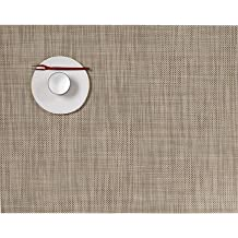 Chilewich Rectangular Mini Basketweave Placemat-Linen