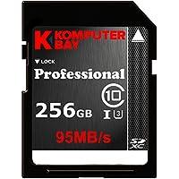 Komputerbay Professional 256 GB High Speed SDXC Class 10 UHS-I, U3 up to 95 MB/Sec Flash Card