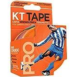 Bandagem Elástica Sintética - Kt Tape 20 Tiras Laranja