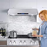 Cosmo COS-QS90 Under Cabinet Range Hood with 500