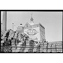 Photo: Minneapolis Brewing Company,Grain Beer Belt,Brewery,Minnesota,MN,FSA,1939