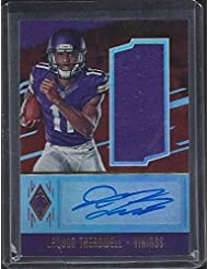 Laquon Treadwell 2014 Panini Phoenix Vikings Rookie Jersey Auto Rc #d 7/99 - Panini Certified - Football Slabbed Autographed Rookie Cards