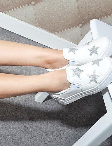 ZQ gyht Damenschuhe – High Heels – unter – Heels Tintenroller – mocasines – Outdoor/casual semicuero – Schwarz/Weiß Schwarz (US 5.5 / EU 36 / UK 3.5 / CN 35) 08fc2c