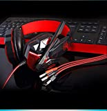 Comfortable/Flexible Gaming Headset with