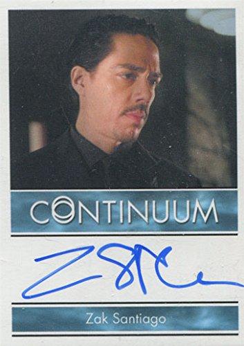 Continuum Seasonable 3 Autograph Card Zak Santiago as Agent Miller