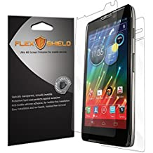 Motorola Droid RAZR I Screen Protector (5-Pack), Flex Shield Clear Screen Protector for Motorola Droid RAZR I (XT890) Bubble-Free and Scratch Resistant Film