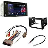 CAR CD STEREO RECEIVER DASH INSTALL MOUNTING KIT WIRE HARNESS AND RADIO ANTENNA ADAPTER FOR FOR SELECT FORD MERCURY