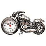 MyLifeUNIT Motorcycle Alarm Clock, Motor Table Clock for Home Decor