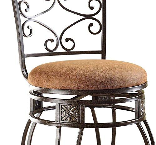 home, kitchen, furniture, game, recreation room furniture, home bar furniture,  barstools 6 discount ACME Set of 2 Tavio Swivel Bar Chair deals