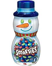 NESTLÉ Smarties Twist 'n Pour Snowman; 250g Canister
