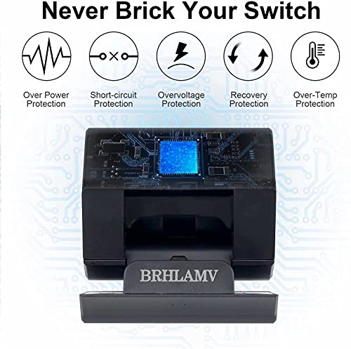 Nintendo for Switch Dock Portable, BRHLAMV Mini Replacement for Nintendo TV Dock Station with HDMI, USB 3.0, 2USB 2.0 and Charging Ports