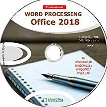 Word Processing Office Suite 2018 Perfect Home Student and Business for Windows 10 8.1 8 7 Vista XP 32 64bit| Alternative to Microsoft™️ Office 2016 2013 2010 365 Compatible Word Excel PowerPoint