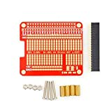 HAT/Hole plate + prototyping board DIY Kit For Raspberry Pi 2 Compatible A+