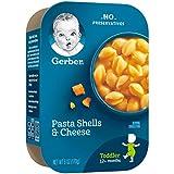 Gerber Pasta Shells & Cheese, 6 Ounce