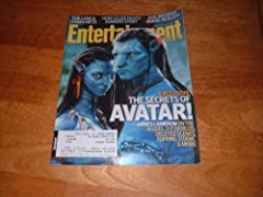 Entertainment Weekly January 22 2010 Avatar On Cover, James Cameron Interview, Jay Leno Vs Conan O'brian, Corinne Bailey Rae, Paul Reubens - Pee Wee Herman Returns, Celebrity Death Rumors, Denzel Washington/the Book Of Eli, Colbie Caillat Q&a