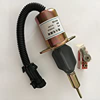OFFERPARTS P/N:3939019,24V shutdown solenoid,shut off stop solenoid fit to Cummins Engines on Hyundai 335LC-7