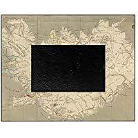 CafePress - Vintage Map Of Iceland (1819) - Decorative 8x10 Picture Frame