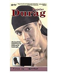Knubian Spandex/Stretchable Black DuRag