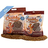 Chubby Mealworms High Quality Bulk Dried Mealworms for Wild Birds, Chickens etc. (7Lbs)