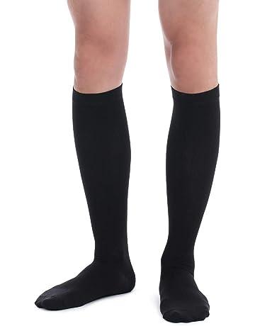 47bc9b2551 Fytto 1067 Men's Compression Socks, Professional 15-20mmHg Knee-High Hosiery  – Class