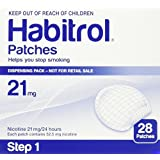 Novartis Nicotine Transdermal System Stop Smoking Aid Patches - 28 Each (Step 1-21 Mg)
