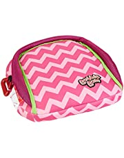 BubbleBum Inflatable Booster Seat, Pink/Chevron