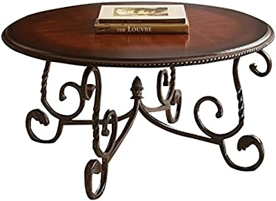 Pemberly Row Coffee Table in Cherry