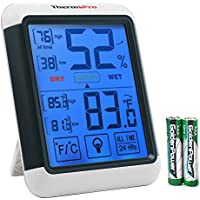 ThermoPro TP55 Digital Hygrometer Indoor Thermometer...