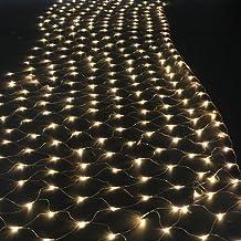 AGPtek®300 LED Net Mesh Fairy String Light Christmas Lights Lighting Party Wedding Xmas Tree-wrap - Warm White