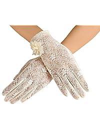 Women's Lace Gloves Summer Sun Glove Driving Screentouch Gloves