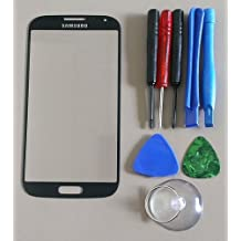 Black Mist Samsung Galaxy S4 i9500 Replacement Front Screen Glass Lens & Tools