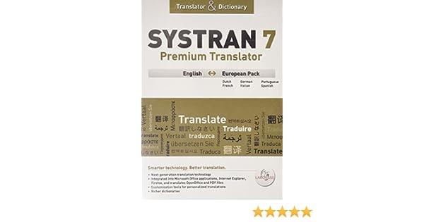 4.0 PROFESSIONAL TÉLÉCHARGER SYSTRAN PREMIUM