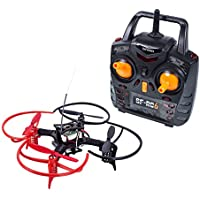 Mini Drone Quadcopter RC FPV- SunFounder 6DX Racing Nano Quadcopter 3D Flip 6 Axis Gyro 2.4G 4CH Radio Transmitter