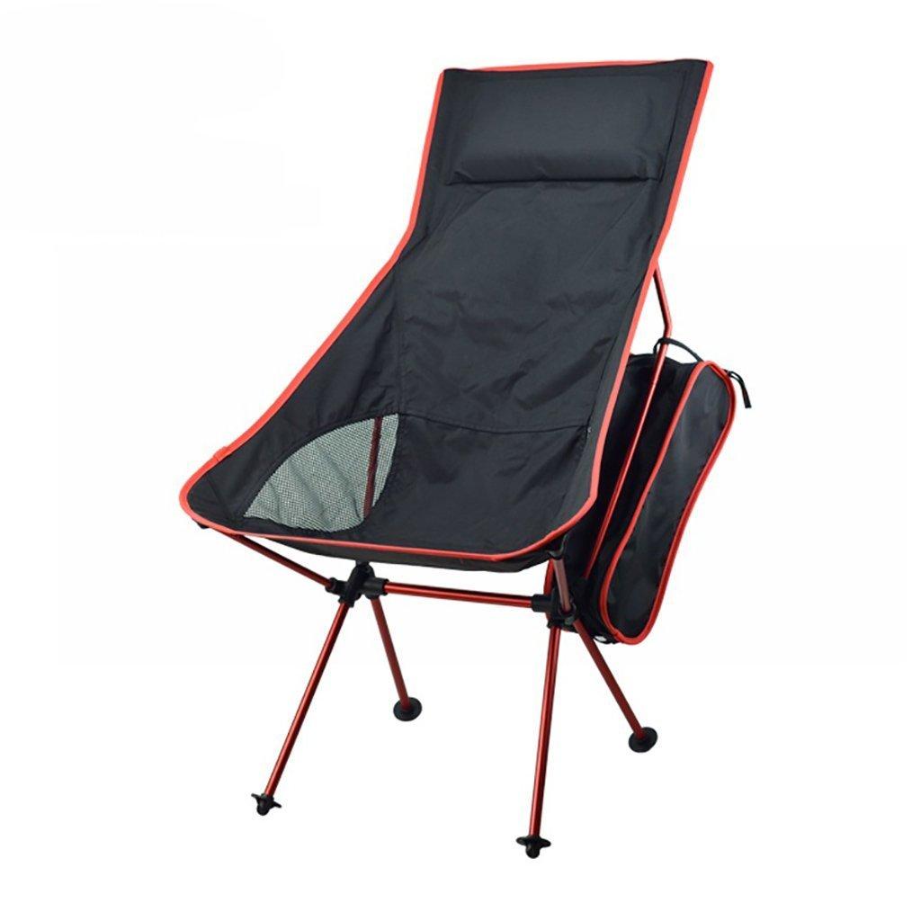 Stuhl-faltbare Outdoor-Sitz-Aluminium-Legierung Stahlrohr Atmungsaktive Oxford Material-ideal Für Campingurlaub Garten Wohnwagen Tour Angeln Strand Grill Skizze - Multifunktionaler Stuhl