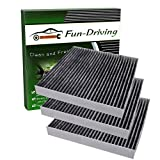 3 Pack Cabin Air Filter for Toyota/Lexus,Replacement for CF10285,CP285