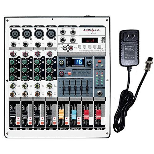 Professional Audio Mixer Phenyx