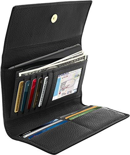 Trifold Clutch RFID Wallets