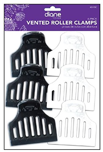 Diane D70C Vented Roller Clamps – Black and White