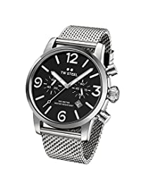 TW Steel Men's MB13 TW Steel Maverick Analog Display Quartz Silver Watch