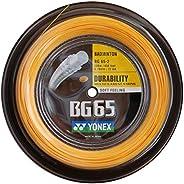Yonex BG 65 Badminton String 0.70mm - 200m (660ft) Reel - Orange