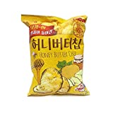 Honey Butter Chip 60g 1Pcs, Potato Snack, HaiTai Honey Butter Chip
